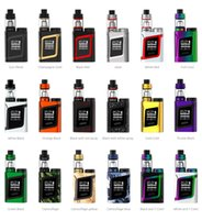 Wholesale Combine Metal - SMOK AL85 Kit 85W AL85 Mod with 3ML TFV8 Baby Tank 85W Output Combines Cloud Beast Tank Top Battery Slot Compact Size AL85 Kit 100%Authentic