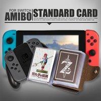 Wholesale Heart Set Kids - DVZ 18PCS Zelda Amiibo NFC Tag Cards Set 20 Heart Wolf Link Fierce Deity Amiibo Cards Breath Of The Wild Full Set kids Toys