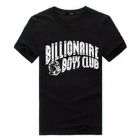 Wholesale Clothing For Boys - BBC Tshirts for Male Gentlemen BILLIONAIRE BOYS CLUB T shirts Men Hip Hop Clothing Summer Short Sleeved Tees Tops