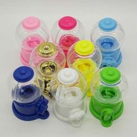 Wholesale yellow wedding favor boxes - 5 Colors Upick--10pcs 9.6*6cm mini candy machine baby shower party favor boxes Birthday party gift box