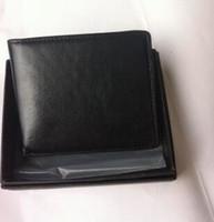 nouvelle carte achat en gros de-NOUVEAUX portefeuilles pour hommes Porte-cartes de qualité supérieure pour portefeuille, multi-poches, cartes de crédit, porte-monnaie, sacs à main pour hommes au design simple. Livraison gratuite