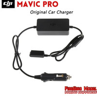 Wholesale Pro Car Parts - Original DJI Mavic Pro Car Charger Parts Low-voltage&Overheating Protection charge the Intelligent flight battery through a car