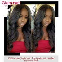 Wholesale weft hair for braiding for sale - Group buy New Best Selling Brazilian Human Hair Extensions Unprocessed Indian Peruvian Malaysian Body Wave Hair Weaves Cheap Remy Hair Weft For Braid
