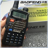 Wholesale radio manufacturers for sale - Group buy Bao feng bf uv5re interphone bao feng UV r making wireless vehicular r double section hand machines manufacturers selling