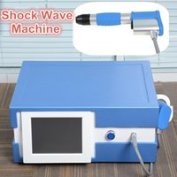 Wholesale electric shock stimulation - Perfect effect electric stimulation shock wave therapy equipment for body pain removal shockwave shock wave therapy