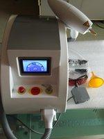 ingrosso cicatrice anti acne-2000MJ touch screen 1000w Q commutato nd yag laser bellezza macchina tatuaggio rimozione Scar acne rimozione 1320nm 1064nm 532nm