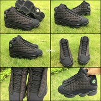 Wholesale cat bowl black - Black Cat Mens Basketball Shoes For Men Jumpman 13 13s 3M Reflect AAA Quality 414571-011 Athletic Trainers Sport Sneakers 13s Boost US 8 -13