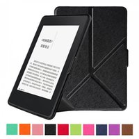 Amazon ebook reader - Flip Transformers Leather Cover Smart Case for Amazon Kindle Paperwhite inch Kindle Paperwhite eBook Reader Cases
