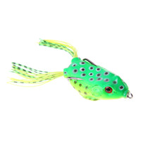 Wholesale japan lures for sale - 5PCS Soft Tube japan plastic Fishing Lure Artificial Frog Lure cm g Crankbait Topwater Fishing Baits With Sharp Hooks