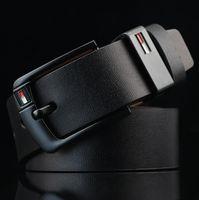 ceintures en cuir européennes achat en gros de-Style européen chaud 2018 mode de luxe en alliage ardillon boucle hommes femmes designer ceintures ceinture haute marque ceintures en cuir véritable pour cadeau
