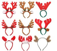 Wholesale lovely keychains - wholesale Cheap Christmas antlers flocked velvet soft and comfortable,Company activities gifts,students children gifts prizes Lovely gift