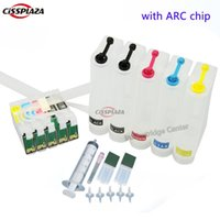 Wholesale compatible ink epson - CISSPLAZA UV Dye Ink CIS CISS Bulk Ink System compatible for C120 workforce 30 310 315 1100 T0691