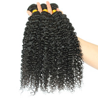 Wholesale queen hair resale online - Kinky Curly Weave Human Hair Extensions Honey Queen Hair Products Peruvian Remy Human Bundles Deals Hair Weaving