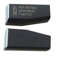 Wholesale keys blank transponder chip resale online - High Quality Original Car Key Chips PCF7937EA Carbon Auto Blank Transponder Chip Used for GM