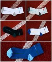 estilo atlético para hombre al por mayor-5 hombres del estilo del muchacho caliente de fútbol calcetines de baloncesto deportes para hombre calcetines atléticos de algodón antideslizante ciclismo escalada correr calcetines G509S