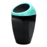 caja del organizador automático al por mayor-3R Cubo de Basura de Coche Cubo de Basura Caja de Polvo de Basura de Automóviles Cubo de Basura Puede Cubo Organizador Creativo Accesorios de Automóviles Contenedor de Basura Conveniencia