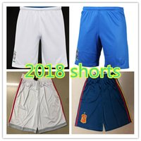 Wholesale men s home pants - 2018 Brasil home away shorts 2018 World cup spain ISCO ASENSIO MORATA shorts JESUS COUTINHO MARCELO FIRMINO football shorts pants