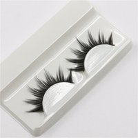 Wholesale Eyelash Extensions Mix - Can Mix 16 style Handmade New Eyelash Under Eye Pads Black Long Thick CrossNatural Fake Eye Lashes Extension Women Makeup Beauty