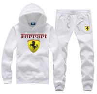 Wholesale cars hooded online - Classic Car Brand Pegasus Logo F1 Pegasus sweat suit Men s Tracksuits sportswear hoodies pants sets mens hoodies sweatshirts outwear suits