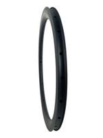 ingrosso ruote in carbonio pieghevole-Migliore Qualità solo 320 g / pz 20 pollici BMX 406 MM Copertoncino Orlo Pieno Carbon Road Bicicletta Cerchi 30mm Profondo 30mm Ampia Pieghevole Bike Wheel Rim