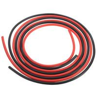 кабельный калибр оптовых-12 AWG 10 футов провода силикона датчика 3M гибких, Котор сели на мель медных кабелей для цепи RC