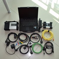 Wholesale bmw diagnostic laptop online - 2in1 for mb star c5 for bmw icom next in1 hdd tb with laptop cf52 g toughbook diagnostic tool ready to use