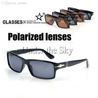 Wholesale black cruises - Wholesale-2015 PERSOL Polarized Driving Sun Glasses Tom Cruise Style Sunglasses Mission Impossible 4 Outdoor Eyewear UV400 Shades B030501