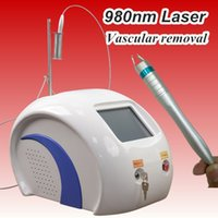 Wholesale machine energy - Portable spider vein removal machine 980nm diode laser varicose veins vascular removal machine 980 nm Wavelength 100J high energy 30W beauty