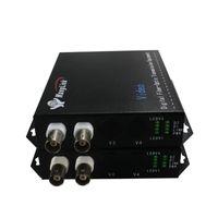 camaras bnc al por mayor-Convertidor de 2 canales Bnc a ip HD 1080P analógico a cámara ip