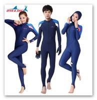 mergulho de mergulho de mulher venda por atacado-Lycra Scuba Dive Skins para Homens ou Mulheres UPF50 + Snorkeling Equipamentos de natação Stinger Esportes Aquáticos Ternos Macacão Swimwear Wetsuit Rash Guards