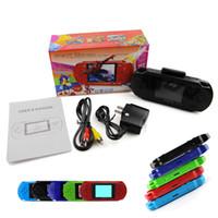 Wholesale New Arrival Game Player PXP3 Bit PVP Bit LCD Screen Handheld Video Game Player Console Colors Mini Portable TV Games PK SFC GB SEGA