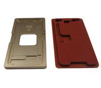 iphone schirmformen großhandel-Jiutu aluminiumform für iphone x laminator form lcd screen laminieren und positionieren ausrichtung oled screen repair