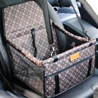 autositze träger großhandel-Haustier Auto Booster Sitz für Hund Katze tragbare atmungsaktive Tasche mit Sicherheitsgurt Hund Gepäckträger Sicherheit für die Reise