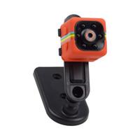 автомобильный удаленный dvr оптовых-SQ11 Мини Камера HD 1080 P Видеокамера Ночного Видения Автомобильный Видеорегистратор Инфракрасный Видеорегистратор Спорт Цифровая Камера Поддержка TF Карта DV Камера