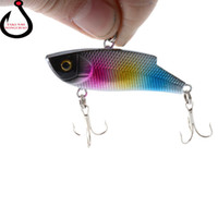 Wholesale new lifelike fishing lures for sale - Group buy 10g CM New Vib Crankbait Lifelike Fishing Lure High Quality Fishing Bait Slow Sinking Hard Fish Wobbler WS Y1890402