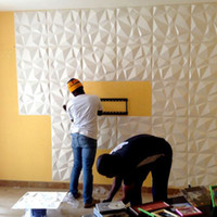 modern sanat duvar kağıtları toptan satış-2018 Yeni Varış OEM Renk 3D Duvar sticker 3D PVC duvar Paneli Dekoratif Su Geçirmez Kurulu Duvar DIY Sanat duvar kağıdı Ev Deco için