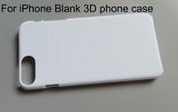 boş hard telefon kutuları toptan satış-Boş Sublime telefon kılıfı için iPhone X XR XS Max 5 6 7 8 artı 3d Sert PC baskı telefon kılıfı 10 adet / grup