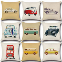 Wholesale pillow case design free resale online - pillow cover car design home sofa pillow case office chair pillow case free delivery