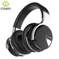 ingrosso microfoni di qualità originali-Cuffie stereo Bluetooth originale Cowin E-7 Cuffie stereo con microfono 30 ore di riproduzione Auricolare wireless di alta qualità