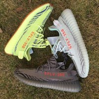 Wholesale Core Light Green - B37571 Blue Tint 350 V2 Beluga 2.0 Grey Bold Orange AH2203 Zebra Cream White Core Bred Black Red Semi Frozen Yellow