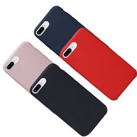 Wholesale cellphone shockproof - Silicone Cellphone Case for Iphone X , 7, 8, 8 Plus Thin Shockproof Case Liquid Silicone Gel Rubber With Microfiber Cloth Mobile Phone Cover