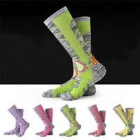 Wholesale Ski Boards - Ourdoor Sports Socks Thick Towel Bottom Socks For Women & Men For Hiking Boarding Skiing Breathable Moisture Warm Wear-resistant G490Q