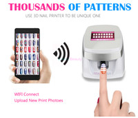 Wholesale diy digital painting for sale - Group buy New Arrival Auto Digital Custom D Nail Printer Machine with Thousands of Patterns Nail Painting Printing Machine DIY Nail Art Equipment