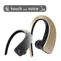 ingrosso bluetooth in oro lg-Q2 Touch Auricolari Bluetooth Wireless Cuffie Stereo BT V4.1 Auricolare Smart Gold Auriculares per Samsung iPhone LG