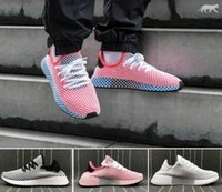 Wholesale tubular cut - 2018 DEERUPT RUNNER TUBULAR SHADOW KNIT Outdoor Jogging Classic black red white men women Running Shoes CQ2624 Sports Sneakers Eur 36-45