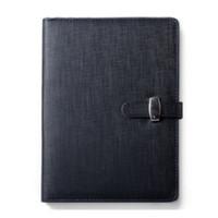 planificateurs de poche achat en gros de-3 taille agenda NotPersonal Pocket Organizer Planner PU couverture en cuir, A6