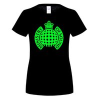 Wholesale Electro Sound - New Ministry of Sound Electro House Music Logo Men's Black T-Shirt Size S To 3XL Top Quality T Shirts Men O Neck Top Tee