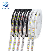 Wholesale led strip pink 5m - Waterproof 5050 SMD LED Strip light 5M 12V Decoration LED String lamp 60LEDs M RGB, RGBW, RGBWW ,Yellow,Pink,Ice Blue 11 Colors