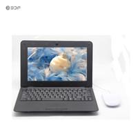 tablet wifi bluetooth hdmi toptan satış-2018 BDF 10.1 Inç Dizüstü Android HDMI Dizüstü 8 GB Çift Çekirdekli Mini Netbook Bluetooth RJ45 Android 5.0 Tablet Wifi Tablet Tabletler