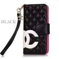 wallet case großhandel-Luxus Designer Paris Zeigen Telefonkasten für iPhone X Xs Xr Xs max 7 7 plus 8 8 plus Ledertasche Kartenhalter Abdeckung